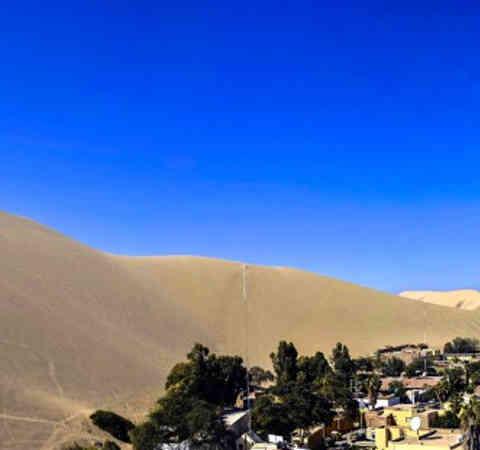 Erlebt in diesem unglaublichen Resort in einer Oase in Peru eine unbechreibliche Nacht wie aus den Märchen von 1001 Nacht.