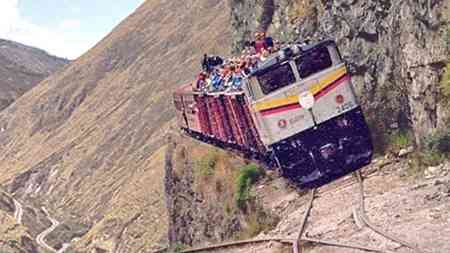 In diesem unglaubklichen Zusammenschnitt seht ihr die 10 extemsten und gefährlichten Zugstrecken.