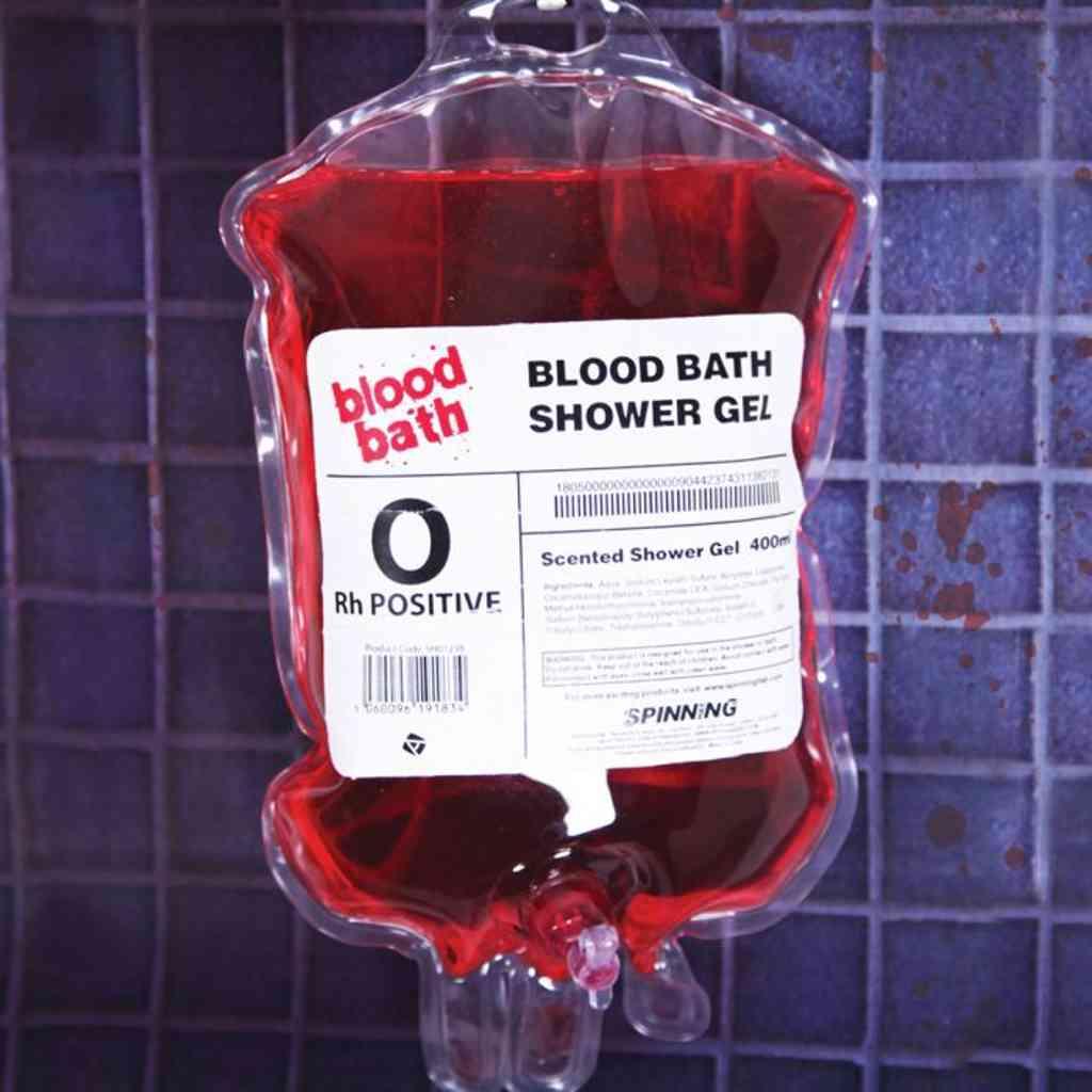 0 Positiv könnte die Lieblings Blutgruppe von Dracula sein, dies ist allerdings ein Duschgel mit Kirsch Geruch.