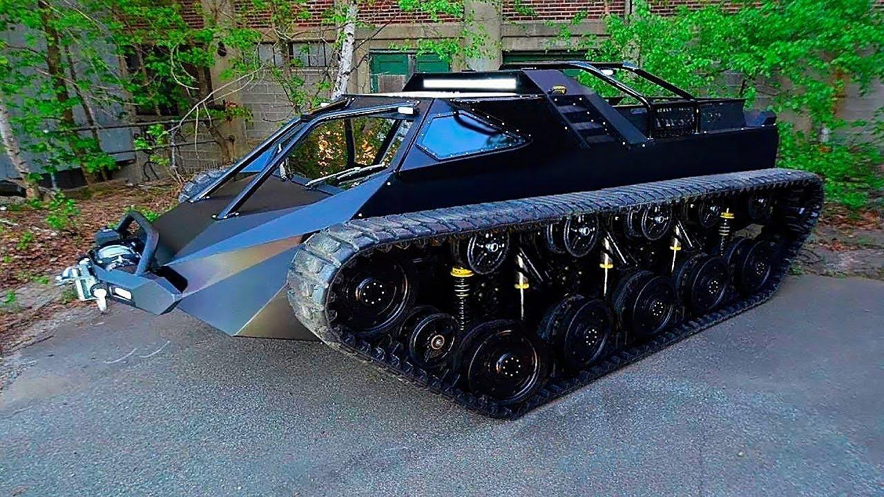 Solche Fahrzeuge hat man noch nie gesehen.