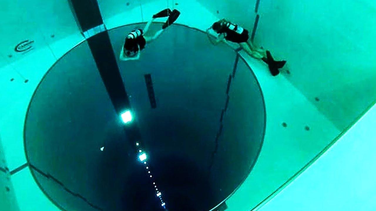 Dies ist der tiefste Pool den man je gesehen hat.