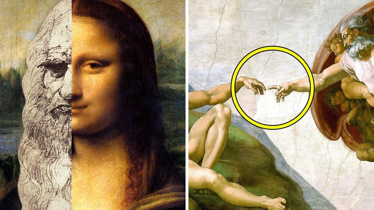 Diese berühmten Gemälde haben mehr Bilder in sich als man es sieht.