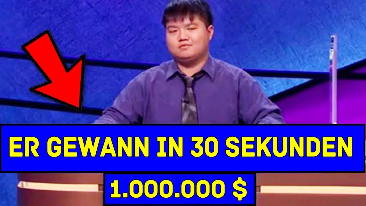 In diesem Video sieht man die Intelligentesten Game Show Gewinner.
